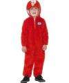 Elmo jumpsuit rood voor kids