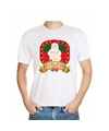 Foute kerst t shirt wit take me it s christmas