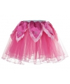Roze fee verkleed tutu voor meiden