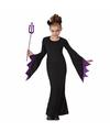Halloween halloween zwarte duivel kostuum voor meisjes