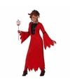 Halloween voordelig halloween duivel jurkje voor meisjes
