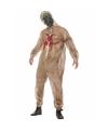 Halloween zombie biohazard kostuum met masker