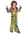 Gekleurd hippie pak voor jongens