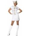 Kapitein jurkje wit voor dames