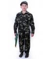 Camouflage kleding voor kinderen