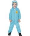 Koekiemonster jumpsuit blue voor kids