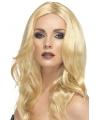Lange blonde damespruiken Superstar