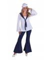 Matroos broek en blouse voor dames