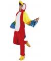 Canaval onesie papegaai heren
