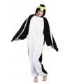 Canaval onesie pinguin dames