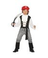 Piraten kostuum maat 140 152 met zwaard voor kinderen