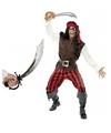 Piraten kostuum met zwaard maat l voor volwassenen