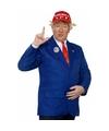 President trump kostuum 4 delig