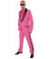 Roze smoking kostuum voor heren