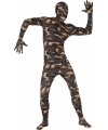 Second skin outfit camouflage print