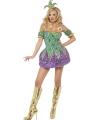 Harlekijn dames kostuum met pailletten