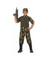 Soldaat/leger kostuum voor jongens