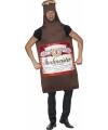 Bierfles verkleed kostuum
