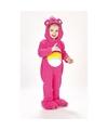Troetelberen kostuum roze voor meisjes