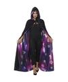 Tweezijdige galaxy ouija verkleed cape