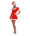 Kerstjurk met muts outfit goedkoop