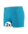 Voordelige blauwe boxershorts 2-pak Lemon and Soda