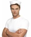 Marine hoedjes in het wit