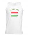 Tanktop met vlag Hongarije print