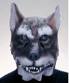 Latex wolf masker