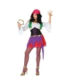 Zigeunerin kostuum 3 delig voor dames